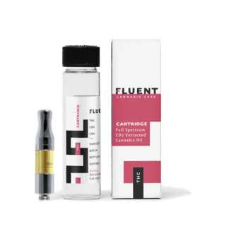 FLUENT POLARIS INDICA THC VAPE CARTRIDGE