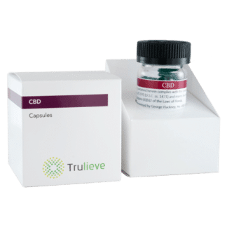 Trulieve Capsule Bottle 25ct 10mg CBD