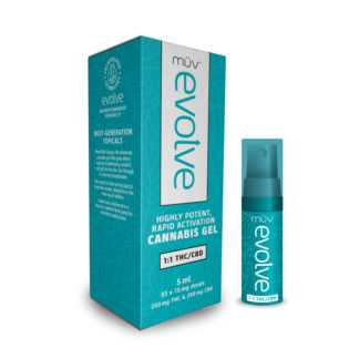 AltMed MUV Evolve Balanced 1 to 1 THC CBD Gel