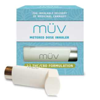 AltMed MUV Evolve Balanced 1 to 1 THC CBD Metered Dose Inhaler