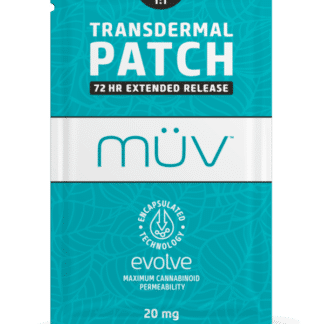 AltMed MUV Evolve Balanced 1 to 1 THC CBD Transdermal Patch