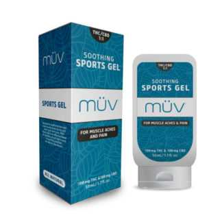 AltMed MUV Soothing Sports Gel 1 to 1 THC to CBD