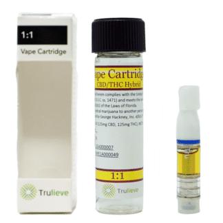 Trulieve Vape Pen Cartridge Balanced 250 mg