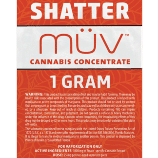 Altmed Muv Shatter Concentrate