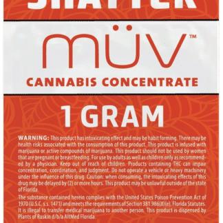 AltMed MUV Shatter