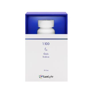 LuxLyte 1 to 100 Soft Gels Indica Dominant