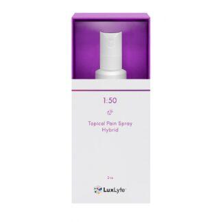 LuxLyte 1 to 50 Topical Spray Sativa Dominant