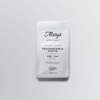 Marys Medicinals CBD THC Balanced Transdermal Patch
