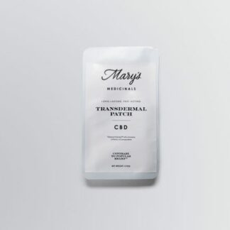 Marys Medicinals CBD Transdermal Patch