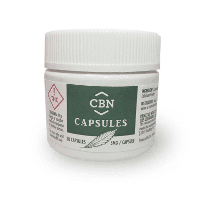 CBx Sciences CBN Capsules