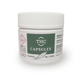 CBx Sciences THC Capsules