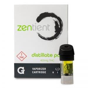 g pen gio distillate vape cartridge