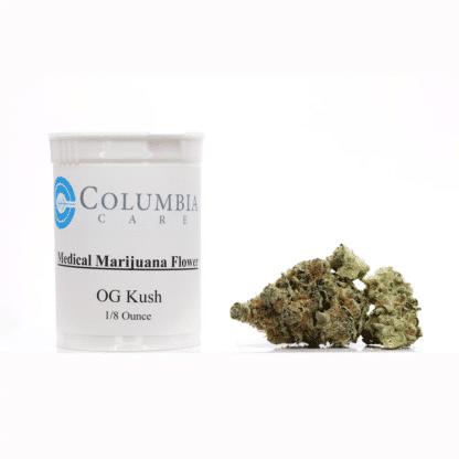 columbia care og kush flower