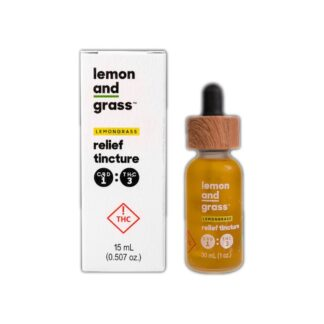 Lemon & Grass Tincture